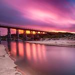 Vicki Moritz - Kilcunda dawn bridge
