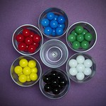 Fred Seeber - Chinese Checker Marbles