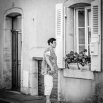 Peter Bond - Window Conversation in Arbois