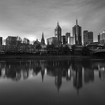Jason Kim - melbourne city view from south bank