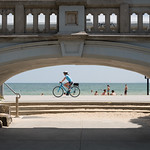 Mo Ng - Bike Ride Along St Kilda Beach