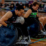Alan Bennett - Rugby on wheels