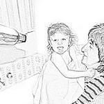 George Skarbek - Hair Drying
