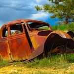 Donna Clarke - Old Car