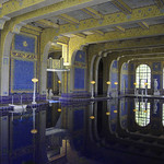 Donna Clarke - Indoor pool  Hearst Castle