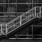 Stephen Edmonds - Suspended staircase