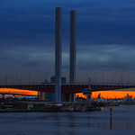Vira Vujovich - Sunset under the Bolte Bridge