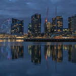 Vira Vujovich - Sunset at Docklands