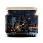Fred Seeber - Sunset in a Jar-Created in Camera