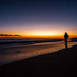 Jason Kim - fisher man in gunnamatta beach sunset