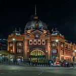 Vira Vujovich - Flinders Train Station in Beautiful Melbourne