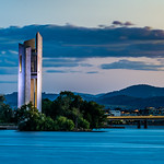 Russell Lucas - National Carillon At Dusk