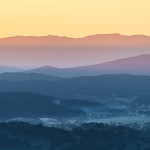 Trace O'Rourke - King Valley Sunrise