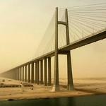 Ian Hansen - Al Firdan Bridge, Suez Canal