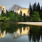 Jen Fawkes - Half Dome Reflections