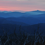 Donna Clarke - Late sunset at Mt. Hotham