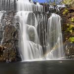 Nihal Basnayake - Swimming under Waterfall