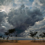 Helen Warnod - Lake Malawi storm