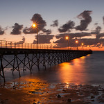 Stephen Edmonds - Sunset over Ceduna jetty
