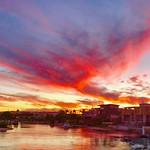 Jim Thorne - Sunset Over Broadbeach