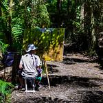 Colleen Singleton - Artist at work