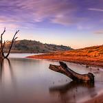 John Mallett - Evening Lake hume