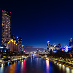 Ray Stabey - Yarra River By Night