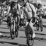 Geoff Shaw - World Naked Bike Ride Melbourne 2016 #2