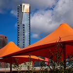 Alan Scott - Umbrellas in the Square
