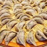Jenny Sui - Dumpling assembly