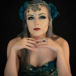 Marlene Chaitra - Peacock girl 1