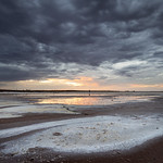 Julie Madders - SALT LAKE UNDER STORMY SKIES