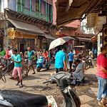 John Morter - Action on the streets of Old Delhi