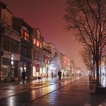 Xiaobo Yu - Night Walk at Old Town
