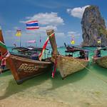 Alan Scott - Thai Longtail Boats