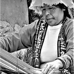 Rod Turner - weaving cloth