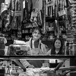 Rosie Hughes - Pretty Deli Lady and her Mother