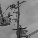 Nihal Basnayake - Replacing Electrical Pole