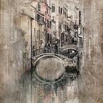 Vicki Moritz - Vintage Venice bridge