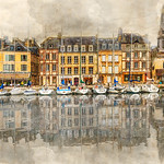 Vicki Moritz - Honfleur harbour