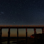 George Skarbek - Kilcunda bridge at moonrise