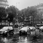 Albert Hutchinson - Paris in the Rain