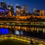 Michelle Golden - Yarra by night